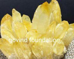 Citrine cluster natural citrine flower 1kg