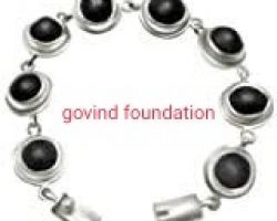 Shaligram silver caping bracelet saligram silver bracelet