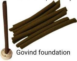 Gugul dhoop sticks dry pure gugal incense sticks 25