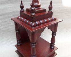 Home temple wooden temple lakdi ka mandir code 2