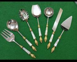 Serving spoons set Salad serving spoon set of 7