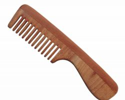 Neemwood comb neem wood handle comb