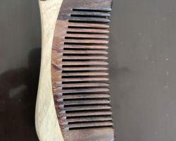 Rosewood comb handmade original rosewood comb