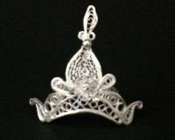 Silver crown for laddu gopal chandi ka mukut