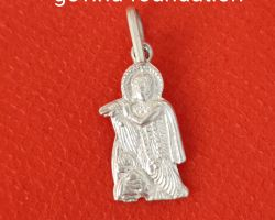 Silver krishna locket silver krishna pendant