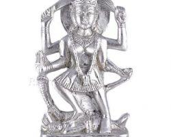 Parad maa kali idol pure parad kali maa murti mercury goddess Kali idol 2 .5 nches