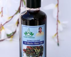 18 herbs anti depression hair oil 200ml brand seema govind