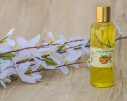 Almond oil pure Badam rogan100ml brand seema govind