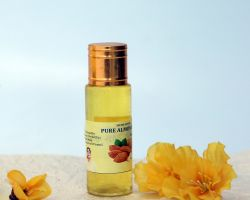 Almond oil pure badam rogan 50ml brand seema govind