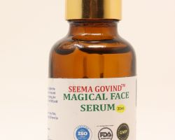 seema govind magical face serum. Anti ageing face serum30ml