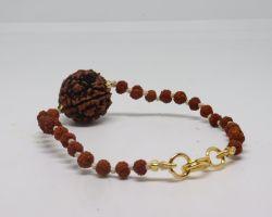 bracelet with rudraksh bracelet