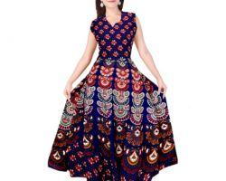 Jaipuri print cotton kurti code. C