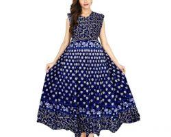 Jaipuri Print cotton kurti code D