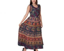 Jaipuri Print cotton kurti. code E