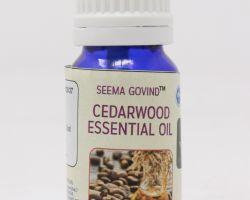 Cedarwood essential oil 10 ml brand seema govind