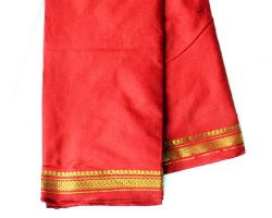 Pooja cotton dhoti with shawl